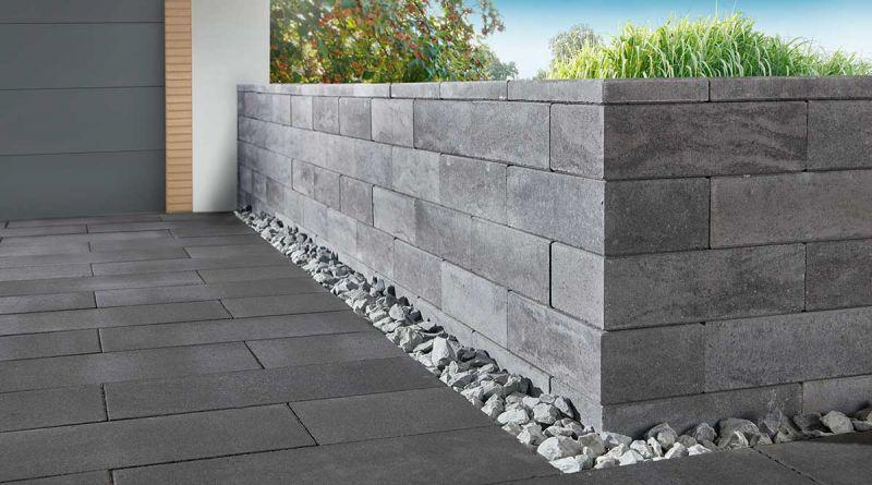 impressa mauer gartenmauern system impressa koll steine. Black Bedroom Furniture Sets. Home Design Ideas